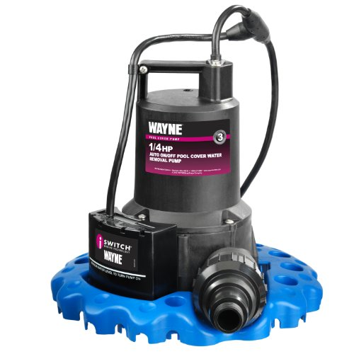 WAYNE HP Automatic ON/OFF Water Removal Pool Cover Pump